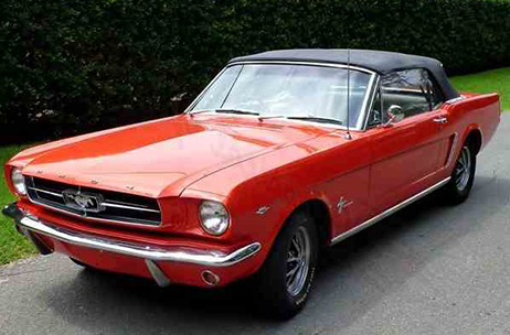 Mustang coupe convertible